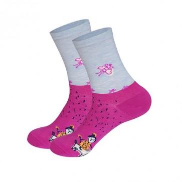 Ponožky - včielka