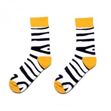 Ponožky - zebrové