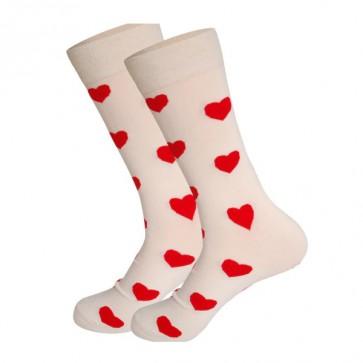 Ponožky - srdiečkové