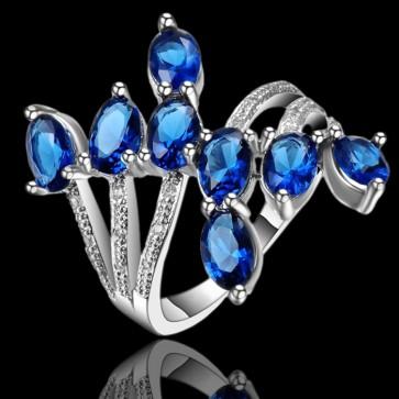 Prsteň - kráľovsko modrý