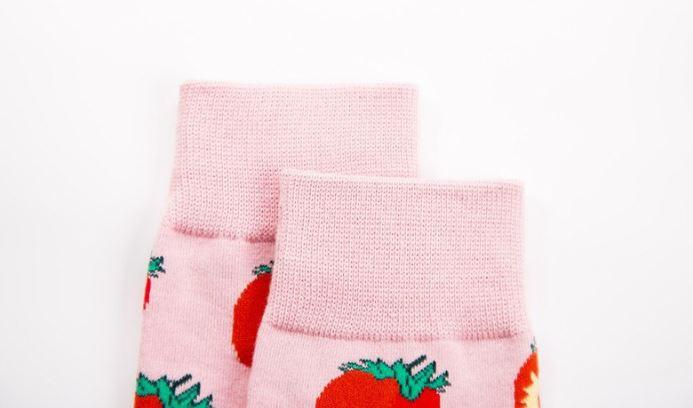 Ponožky - jahôdkové