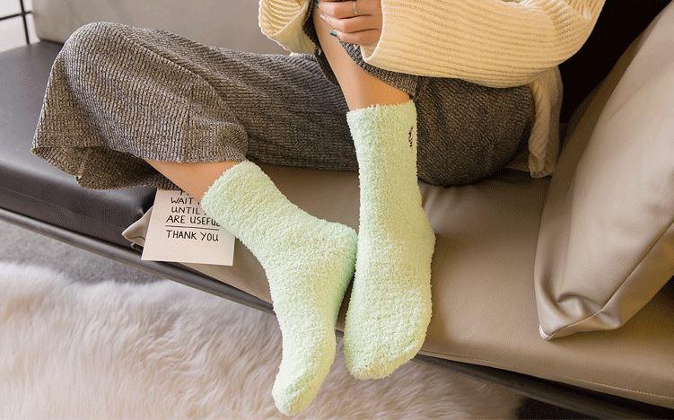 Ponožky - bambi zelené