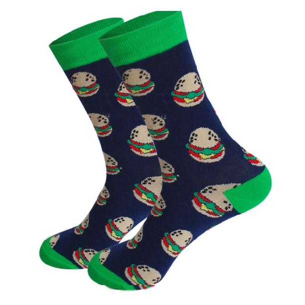 Ponožky - hamburgerové