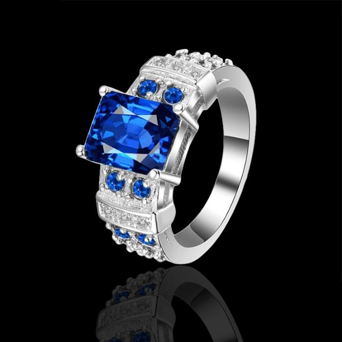 Prsteň - modrý