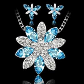 Set - azúrovo modrý