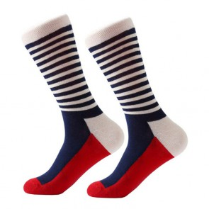 Ponožky - červeno modré