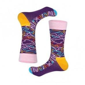 Ponožky - fialové
