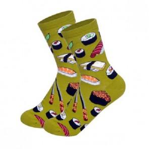 Ponožky - sushi zelené