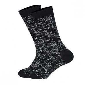 Ponožky - čierno biele