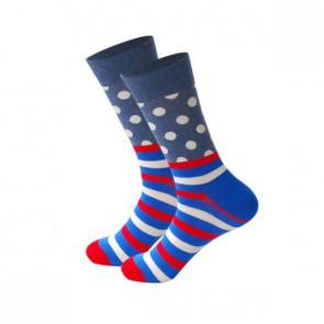 Ponožky - bodko prúžky