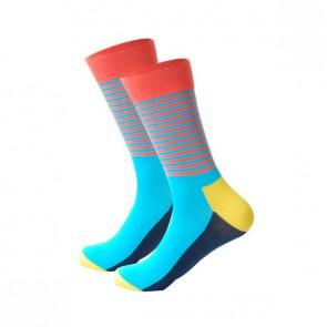 Ponožky - pásikavé farebné