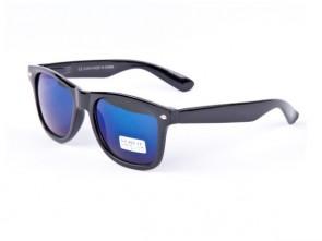 Slnečné okuliare WAYFARER - modré zrkadlovky