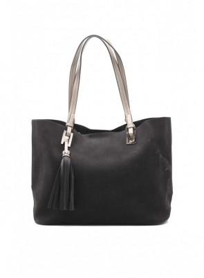 Dámska kabelka TOM&EVA Stela - čierna