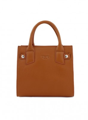 Dámska kožená kabelka TOM&EVA Bessi - hnedá