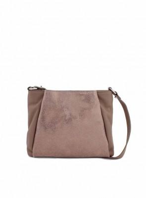 Dámska kožená kabelka TOM&EVA Brix - ťavia