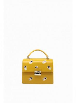 Dámska kabelka TOM&EVA Vera - žltá