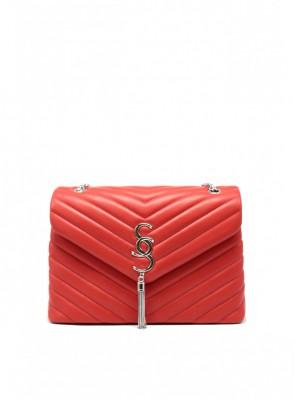 Dámska kabelka TOM&EVA Saint - červená