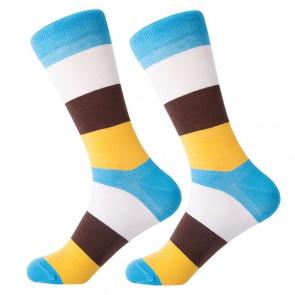 Ponožky - žlto modré