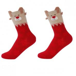 Ponožky - červený macko
