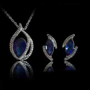 Set - kráľovsko modrý