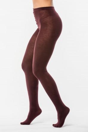 Pančuchové nohavice - XL bordo