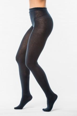 Pančuchové nohavice - L tmavo modré