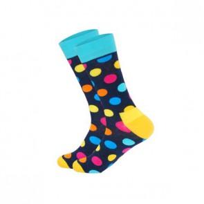 Ponožky - bodkovaná dúha