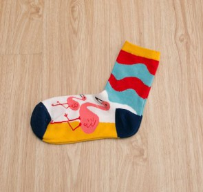 Ponožky - plameniakové