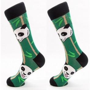 Ponožky - panda na palme