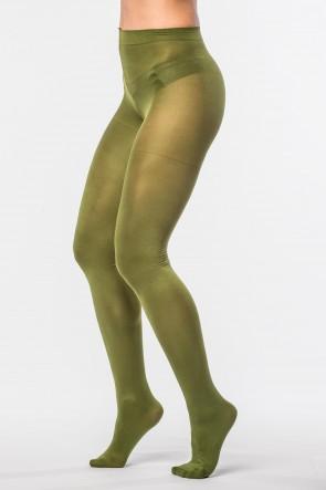 Pančušky - oliva 158/100