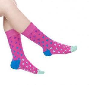 Ponožky - ružové