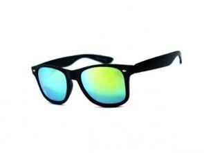Slnečné okuliare WAYFARER - zelené zrkadlovky