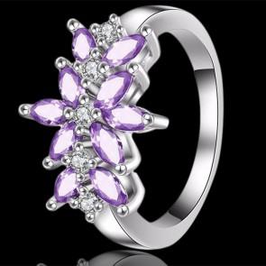 Prsteň - fialový